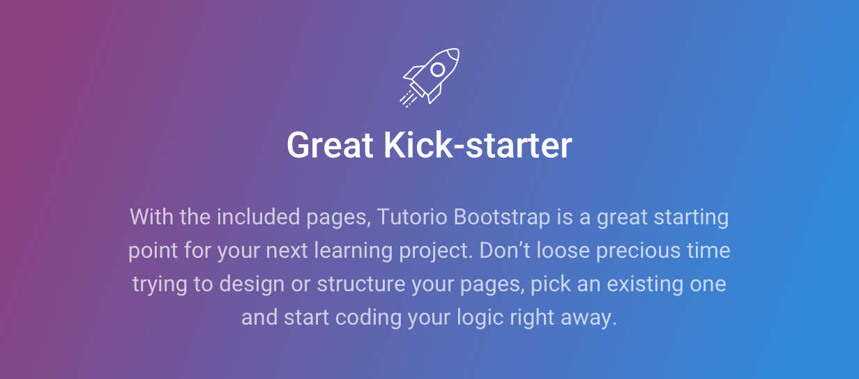 Tutorio Bootstrap - Courses