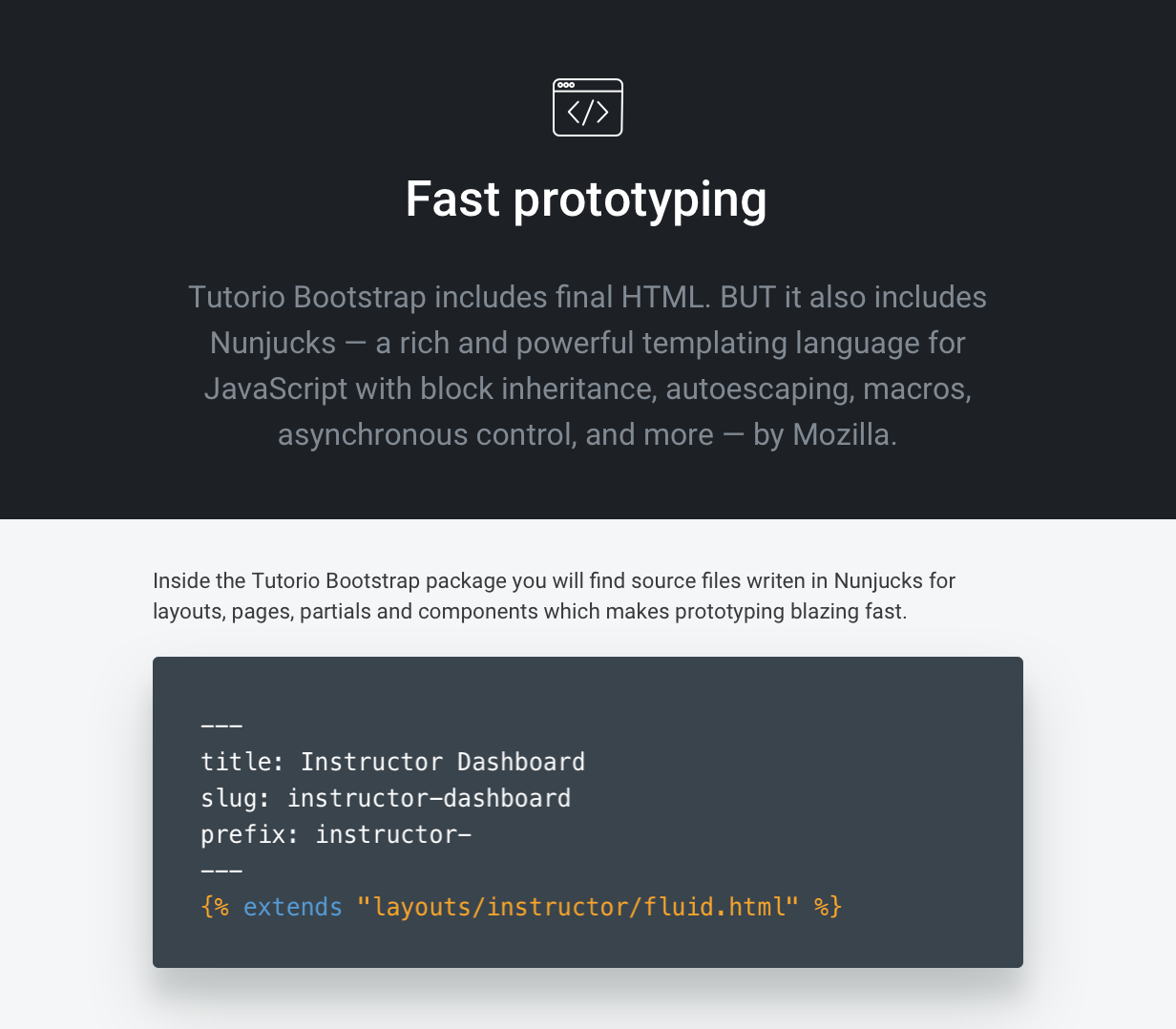Tutorio Bootstrap - Education